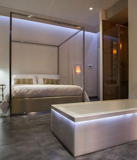 Camera Deluxe Design Hotel 4 stelle Napoli