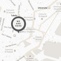 Boutique Hotel Napoli centro: mappa